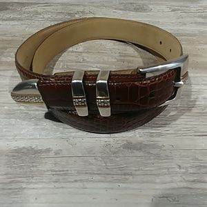 Other - Genuine Italian Calfskin Brown Belt Size 40
